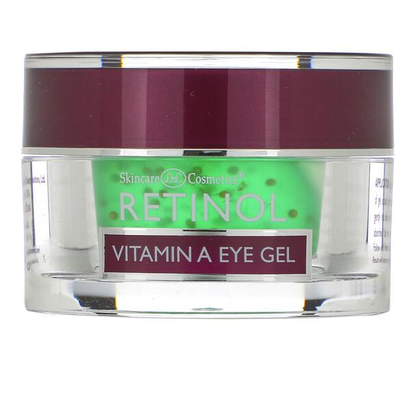 гель для глаз с ретинолом и витамином А, 15г (0,5унции)