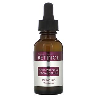 Skincare LdeL Cosmetics Retinol, Anti-Wrinkle Facial Serum, 1 fl oz (30 ml)