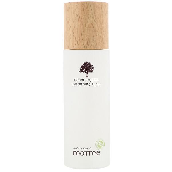 Rootree, Alcanforgánico, Tónico refrescante, 125ml (4,28oz.líq.)