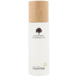 Rootree, Camphorganic Refreshing Toner, 4.28 fl oz (125 ml) отзывы