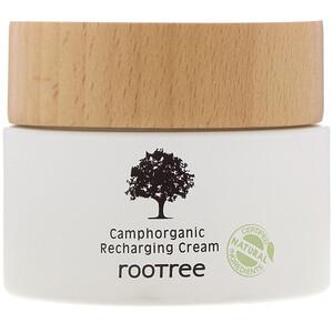 Rootree, Camphorganic Recharging Cream, 2.12 fl oz (60 g) отзывы