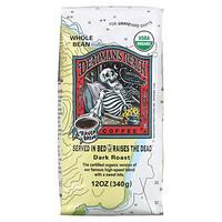 Ravens Brew Coffee, Deadman's Reach Coffee, Organic, Whole Bean, Dark Roast, 12 oz (340 g)