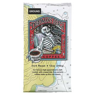 Ravens Brew Coffee, Deadman's Reach, Ground, Dark Roast, 12 oz ( 340 g)