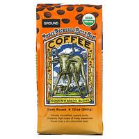 Ravens Brew Coffee, Three Peckered Billy Goat Coffee, Organic, Ground, Dark Roast, 12 oz (340 g)