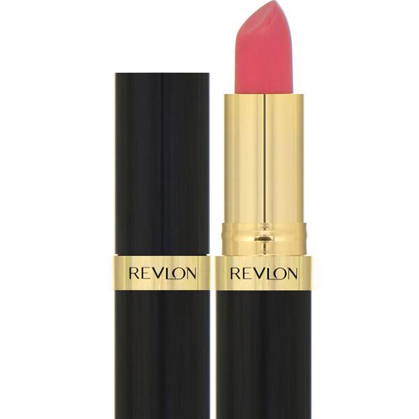 Revlon, ליפסטיק Super Lustrous, כסף עדין, אדום 425, 4.2 גרם (0.15 אונקיות)