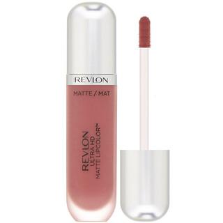 Revlon, UltraHDMatteLipcolor, Lápiz de labios líquido, Alta definición, Mate, 630 Seducción (rosa), 5,9ml (0,2oz.líq.)