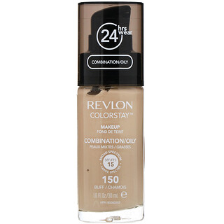 Revlon, Colorstay, Makeup, Combination/Oily, 150 Buff, 1 fl oz (30 ml)