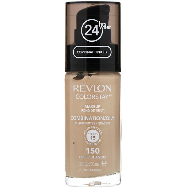 Colorstay, Makeup, Combination/Oily, 150 Buff, 1 fl oz (30 ml)