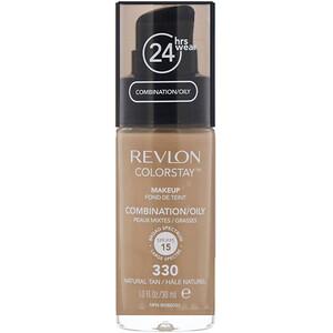 Revlon, Colorstay, Makeup, Combination/Oily, 330 Natural Tan, 1 fl oz (30 ml) отзывы