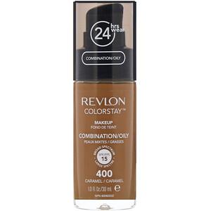 Revlon, Colorstay, Makeup, Combination/Oily, 400 Caramel, 1 fl oz (30 ml) отзывы