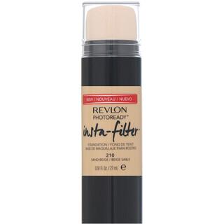 Revlon, PhotoReady, Insta-Filter Foundation, 210 Sand Beige, .91 fl oz (27 ml)