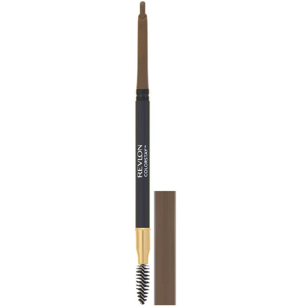 Revlon, Colorstay, Brow Pencil, 210 Soft Brown, 0.012 oz (0.35 g) (Discontinued Item)