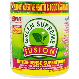 Raw Fusion, Green Supreme Fusion, 11.2 oz (316.5 g)
