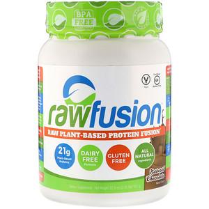 Ро Фьюжен, Raw Plant-Based Protein Fusion, Natural Chocolate, 2.05 lbs (931 g) отзывы