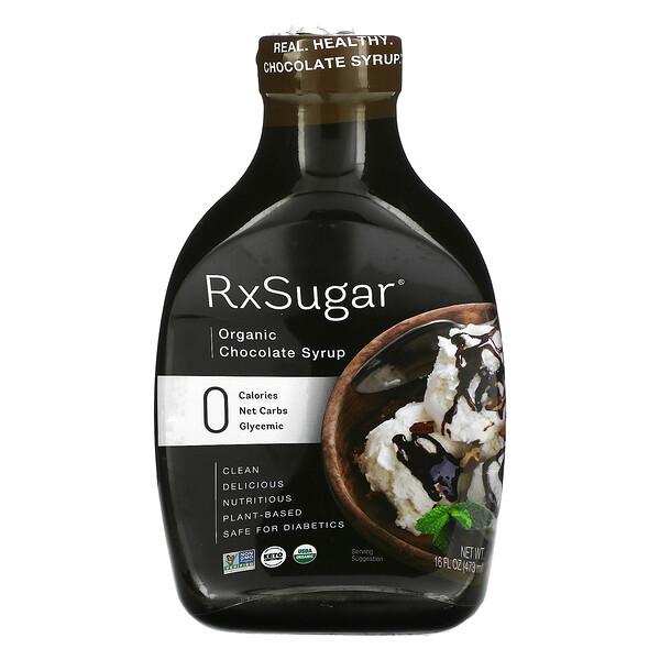 Organic Chocolate Syrup, 16 fl oz (473 ml)