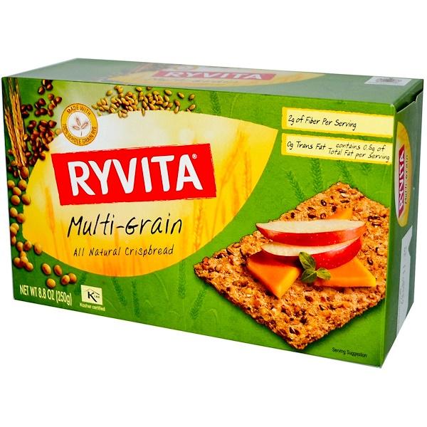Ryvita, オールナチュラル・クリスプ・ブレッド、マルチグレイン (250 g) (Discontinued Item)