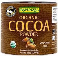 Rapunzel, 유기농 코코아 파우더, 7.1 oz (201 g)