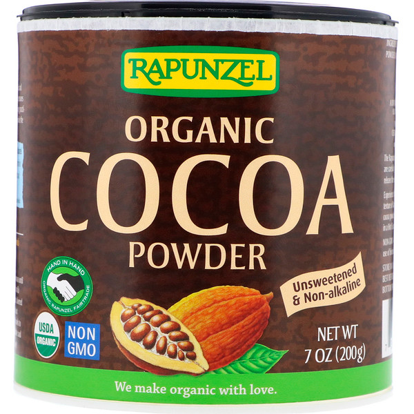 Rapunzel, Organic Cocoa Powder, 7.1 oz (201 g) (Discontinued Item)