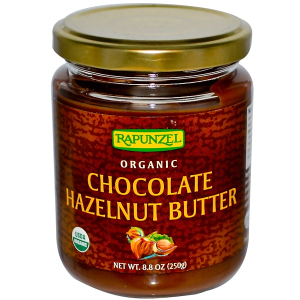 Rapunzel, Organic Chocolate Hazelnut Butter, 8.8 oz (250 g) (Discontinued Item)