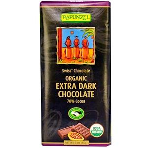 Рапунцель, Organic Extra Dark Chocolate, 3 oz (85 g) отзывы