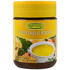 Rapunzel, Vegetable Broth, 4.41 oz (125 g)