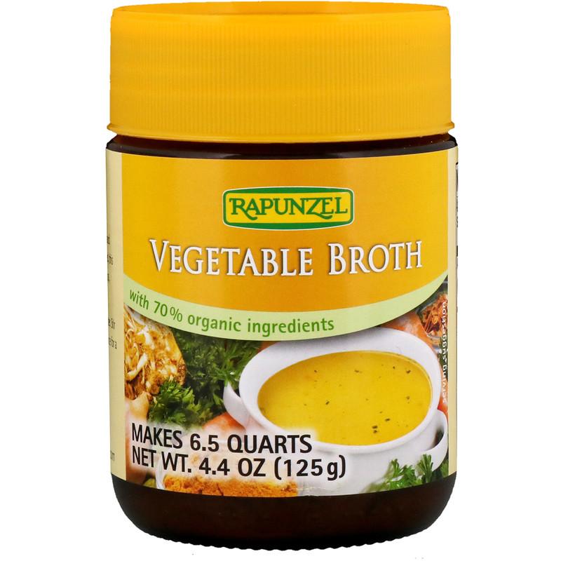 Vegetable Broth, 4.4 oz (125 g)