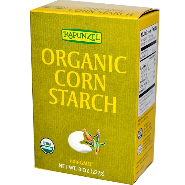Rapunzel, Organic Corn Starch, 8 oz (227 g) (Discontinued Item)