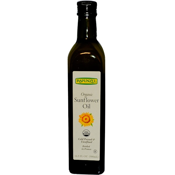 Rapunzel, Organic Sunflower Oil, 16.9 fl oz (500 ml) (Discontinued Item)