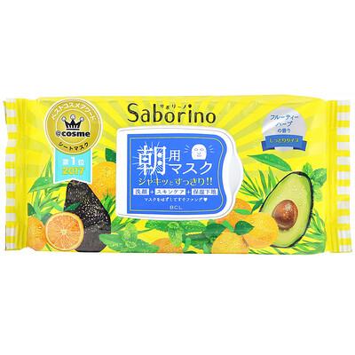 Купить Saborino Morning Face Mask, 32 Sheets, 304 ml
