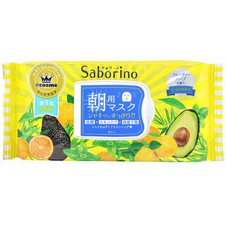 Saborino, Morning Beauty Face Mask, 32 Sheets, 304 ml