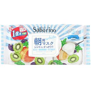 Saborino, Morning Face Mask White, 28 Sheets, 273 ml отзывы