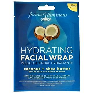 My Spa Life, Forever Luminous, Hydrating Facial Wrap, Face, 1 Facial Wrap, 0.81 oz (23 g)