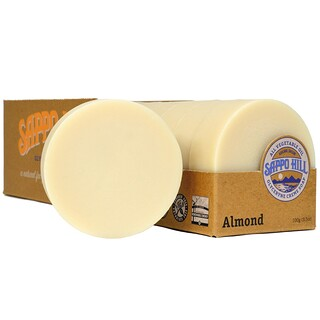 Sappo Hill, Glyceryne Cream Soap, Almond, 12 Bars, 3.5 oz (100 g) Each
