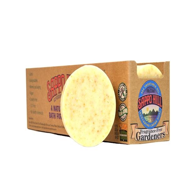 Sappo Hill, Глицериновое крем-мыло, без отдушек, 12 кусков по 3,5 унции (100 г)  (Discontinued Item)