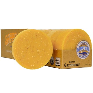 Sappo Hill, Glyceryne Cream Soap, Lemon Gardeners, 12 Bars, 3.5 oz (100 g) Each