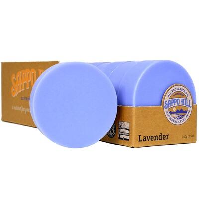 Купить Глицериновое крем-мыло, лавандовое, 12 кусков по 3, 5 унции (100 г)