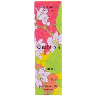 Sarabecca, Natural Roll-On Perfume, Neroli, .25 fl oz (7.5 ml)