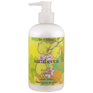 Sarabecca, Body Lotion, Floral Citrus, 9.5 fl oz (280 ml)