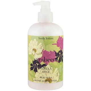 Sarabecca, Body Lotion, Vanilla Spice, 9.5 fl oz (280 ml)