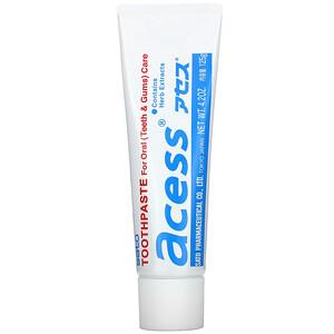 Sato, Acess, Toothpaste for Oral Care, 4.2 oz (125 g) отзывы покупателей