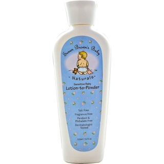 Susan Brown's Baby, Sensitive Baby, Lotion-to-Powder, Fragrance Free, 7.6 fl oz (225 ml)