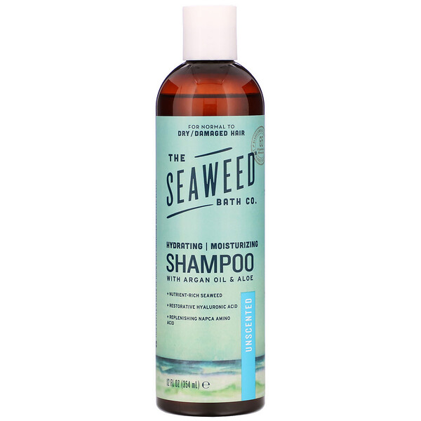 The Seaweed Bath Co., Hydrating Moisturizing Shampoo, Unscented, 12 fl oz (354 ml)