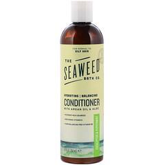 The Seaweed Bath Co., 天然平衡摩洛哥堅果護髮素,桉樹薄荷味,12液體盎司(360毫升)