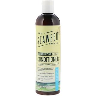 The Seaweed Bath Co., Moisturizing Argan Conditioner, Unscented, 12 fl oz (354 ml)