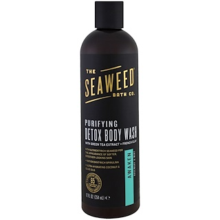 Seaweed Bath Co., Purifying Detox Body Wash, Awaken, Rosemary & Mint, 12 fl oz (354 ml)
