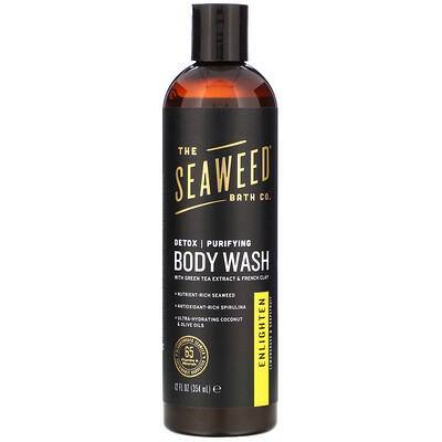 Detox Purifying Body Wash, Enlighten, Lemongrass & Grapefruit, 12 fl oz (354 ml) недорого