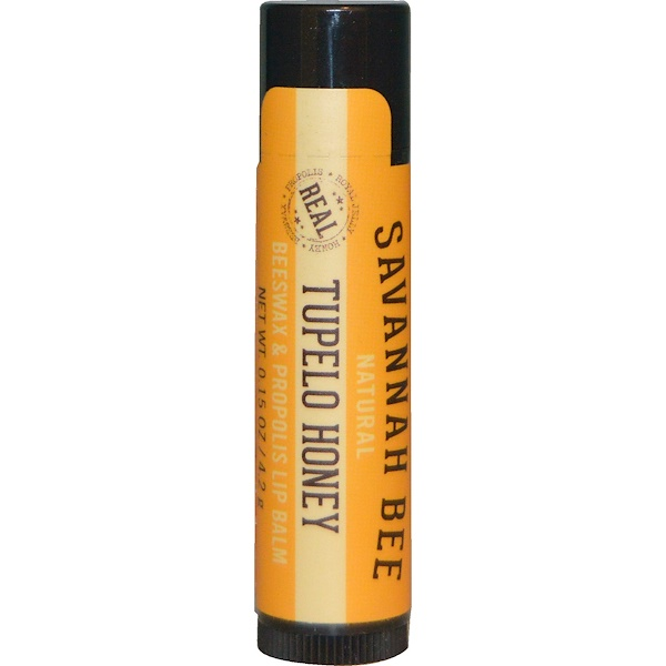 Savannah Bee Company Inc, Lip Balm, Tupelo Honey, 0、15 oz (4、2 g)