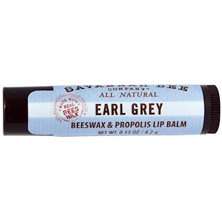 Savannah Bee Company Inc, Lip Balm, Earl Grey, 0.15 oz (4.2 g)