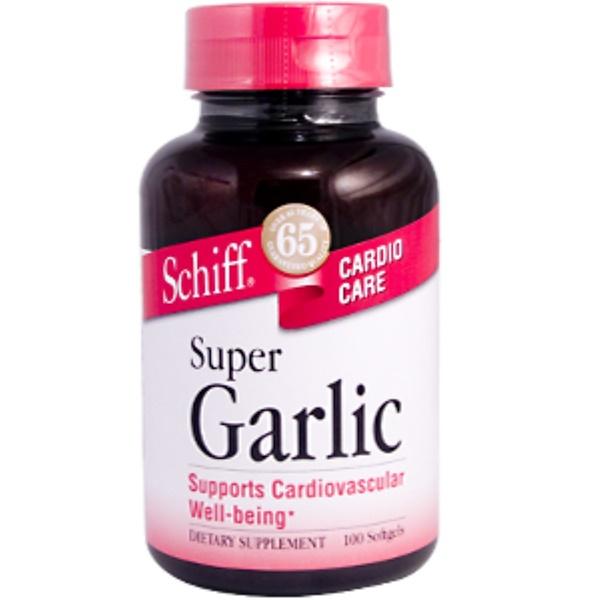 Schiff, Super Garlic, 100 Softgels (Discontinued Item)