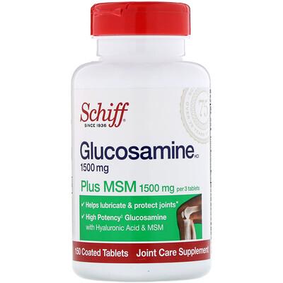 Купить Глюкозамин с MSM, 150 таблеток в оболочке